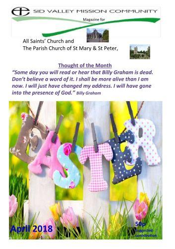 All Saints April 2018 Magazine Front Cover